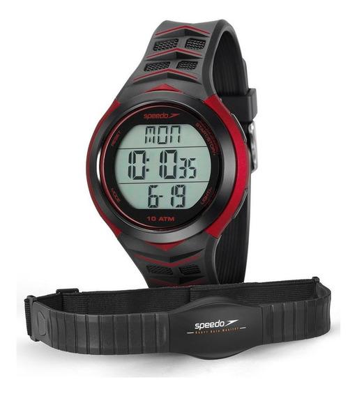 Relógio Monitor Cardíaco Speedo Preto 80621g0evnp1 Nfe