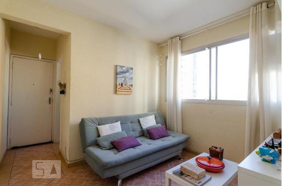 Apartamento No 2º Andar Com 1 Dormitório - Id: 892967486 - 267486