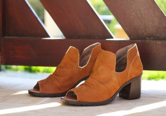 Ankle Boot Caramelo Ld4404 By Balatore
