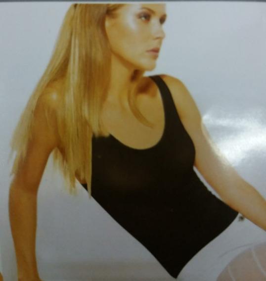 Musculosa 2 Piel Sin Mangas Labrada Lycra Silvana Cut11