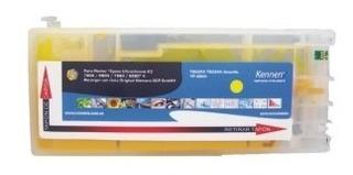 5 Cartuchos Recargables Para Epson 7700 9700 Tinta Alemana