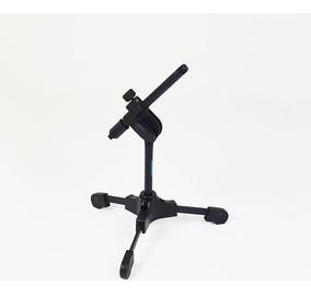Pedestal Suporte Microfone De Mesa Ask Spm Light Universal