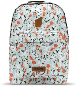 Mochila Usthemp Art Vegano Casual Estampa Carpas