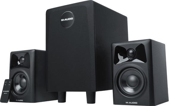 M-audio Av32.1 Kit Monitores Audio Ativo Krk, Jbl, Alesis