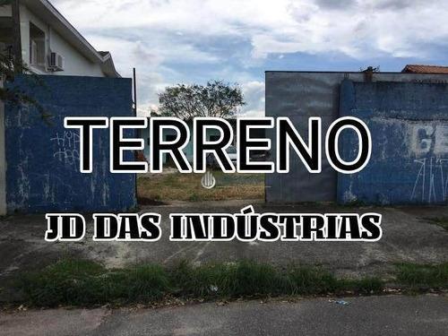 Terreno À Venda, 375 M² Por R$ 550.000,00 - Jardim Das Indústrias - São José Dos Campos/sp - Te1834