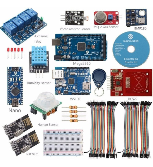 Sunfounder Smart Home Internet Of Things Kit For Arduino