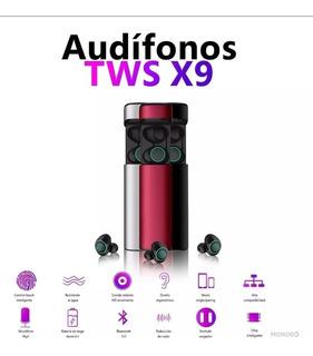 Auriculares Audifonos Bluetooth X9 Manos Libres Base Carga