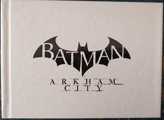 Batman Arkham City Jogo Ps3 Legenda Br + Collectible Artbook