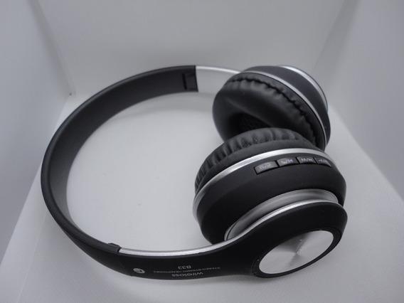 Fone Bluetooth Wireless Sem Fio Headphone Headset