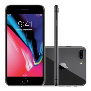 Smartphone Apple iPhone 8 Plus 64gb Tela 5,5 Cinza Espacial