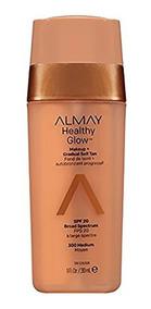 Maquillaje Base Y Autobronceador Healthy Glow Almay