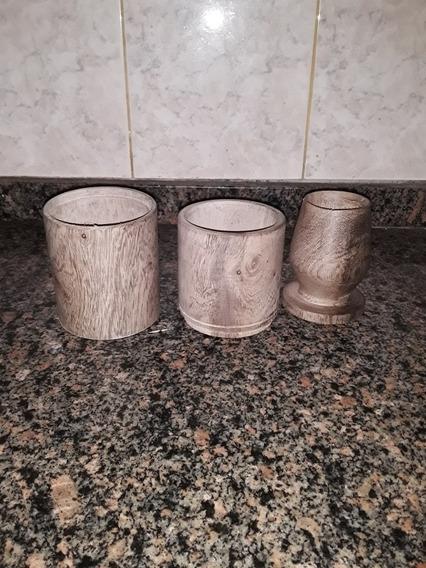 Set Matero 3 Piezas Mate Porta Yerba Y Porta Azúcar