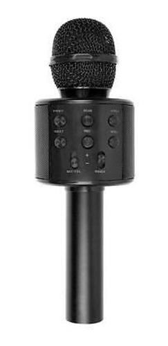 Imagen 1 de 4 de Microfono Karaoke Inalambrico Bluetooth Wireless Usb Sd