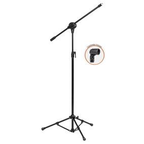 Pedestal Para Microfone Arcano Modelo Vector Com 1 Cachimbo