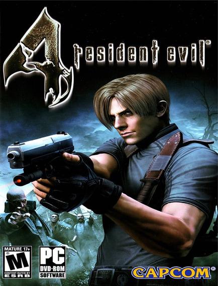 Resident Evil 4 Hd Edition Pc - Steam Key (envio Já)