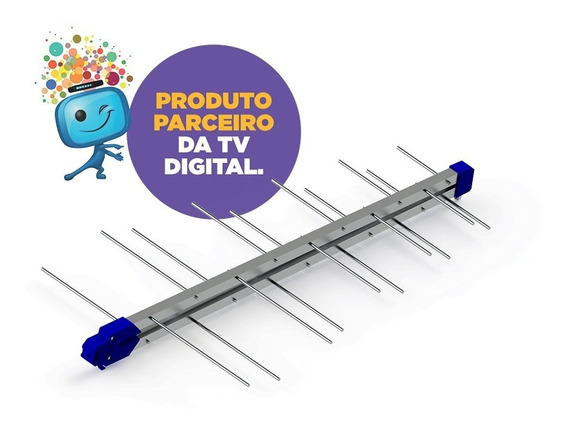 Antena Digital Lte 20 Elementos Prohd-1040lte