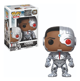 Funko Pop : Justice League - Cyborg #209