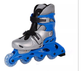 Rollers Infantiles Extensibles Celeste Marfed Patines
