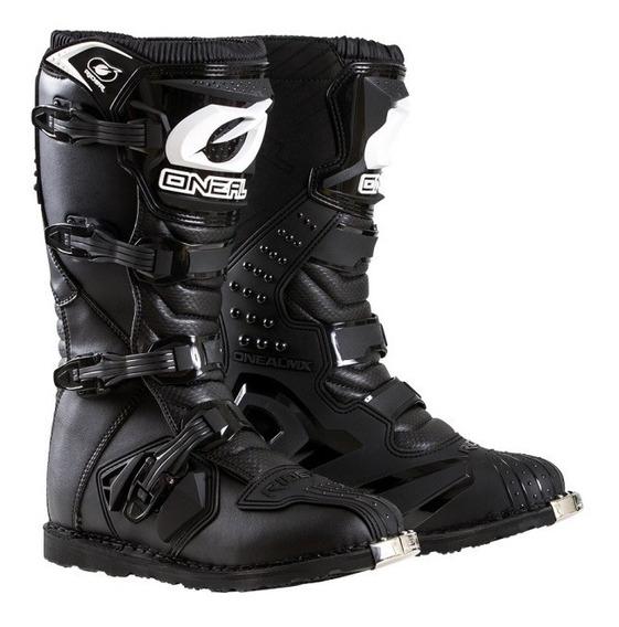 Botas Moto Oneal Rider Enduro/motocross Black
