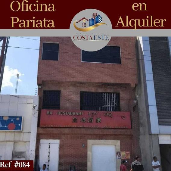 Ref 084 Alquiler Nivel 2 De Oficina Comercial En Maiquetía