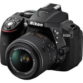 Câmera Nikon D5300 Com Lente 18-55mm F/3.5-5.6g Vr Ii Dx Nik