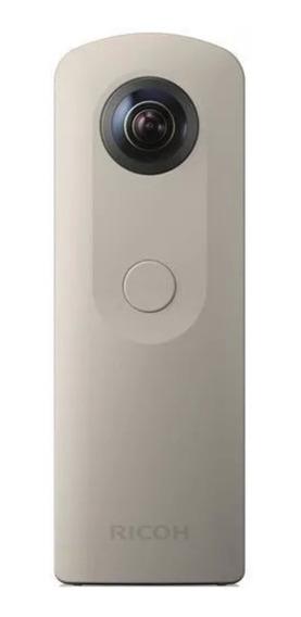 Camera 360 Graus Ricoh Theta Sc Panoramica Bege Esferica