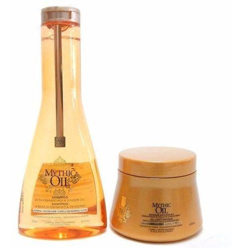 Loreal Mythic Oil Kit Nutrición Shampoo + Mascara Pelo Fino