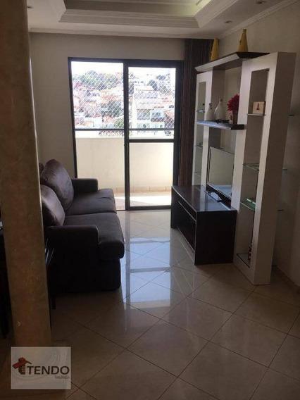 Apartamento 62 M² - 2 Dormitórios - 1 Suíte - Santo Antônio - São Caetano Do Sul/sp - Ap0877