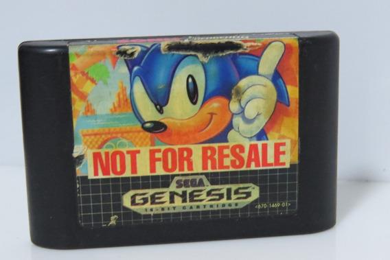 Sonic Original Sega Genesis Mega Drive Cartucho