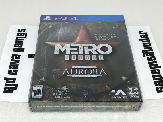 Metro Exodus Aurora Limited Edition Ps4