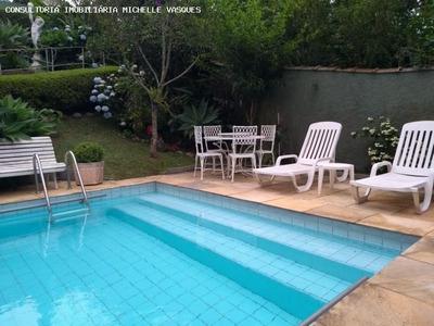 Casa Para Venda Em Teresópolis, Jardim Cascata, 2 Dormitórios, 1 Suíte, 5 Banheiros, 3 Vagas - Cs-349