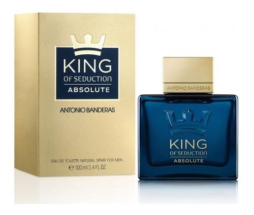 Perfume Importado Ab King Of Seduction Absolute Edt 100 Ml