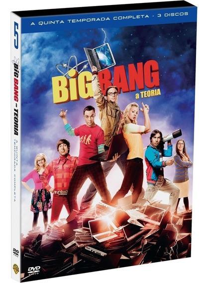 Big Bang A Teoria 5ª Temporada - Box Com 3 Dvds