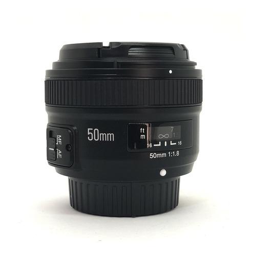 Lente Yongnuo 50mm Yn50mm F1.8 Canon Nikon Gtia Cuotas!!!