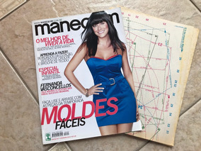 Revista Manequim 607 Fernanda Vasconcellos Infantil Bordados