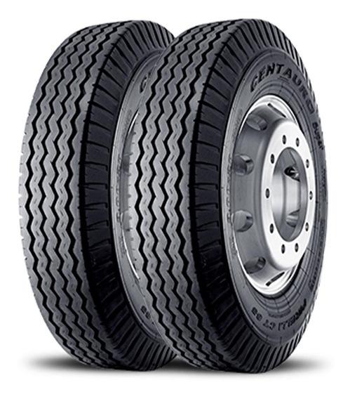 Kit 2 Pneu Pirelli Aro 20 10.00-20 16pr Liso Ct65s