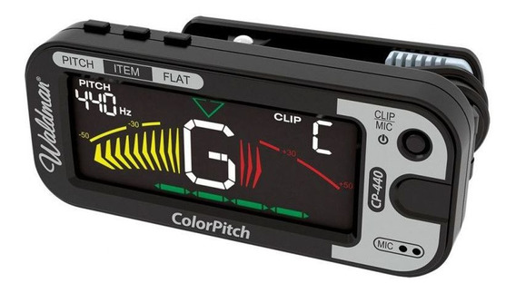Afinador Clip Waldman Cp-440 Display Colorido