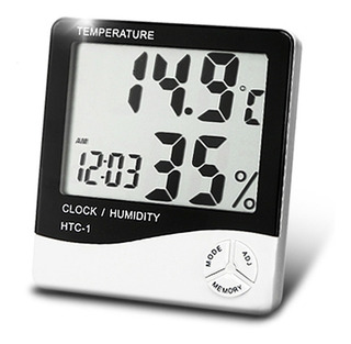 Estacion Meteorologica Reloj Temperatura Htc1 - Factura A/b