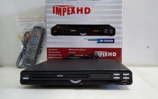 Reproductor Dvd Impex Im-365hd Con Hdmi, Usb, Karaoke, Sd