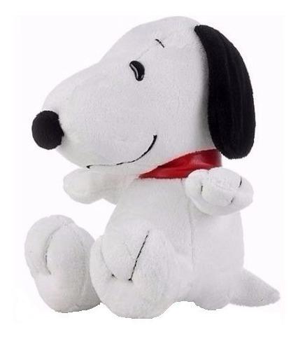 Cachorro Pelúcia Snoopy Amigo Sentado 25 Cm Antialérgico