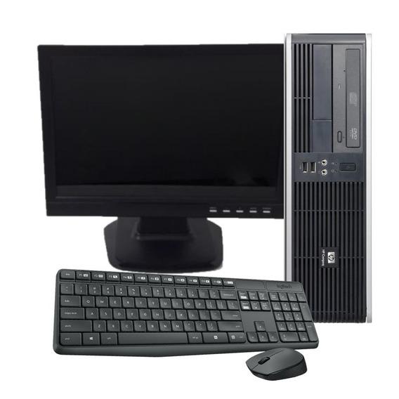 Kit Pc Completo Hp Compaq Pentium 2gb 160gb