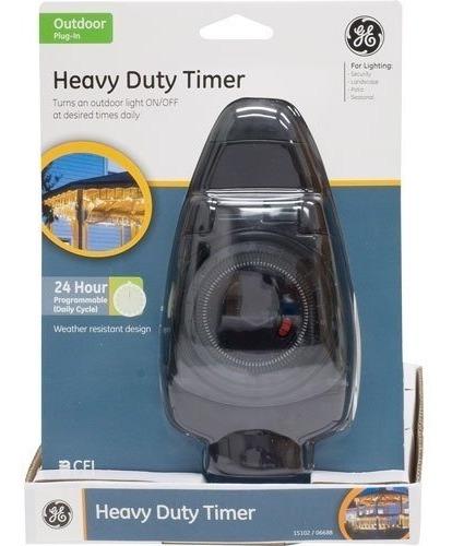 Timer Temporizador Ge 15102 Para Lampadas E Aparelhos