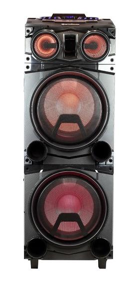 Caixa Amplificada Power Bass 12 Gradiente 1500w Rms Led Top