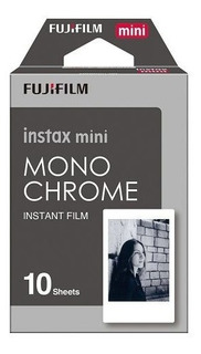Papel Instax Mini Fujifilm Mono Chrome 10 Unidades Proglobal