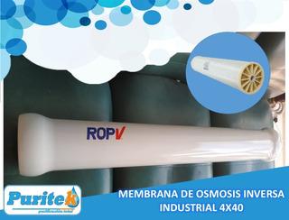 Membrana De Ósmosis Inversa Industrial 4x40