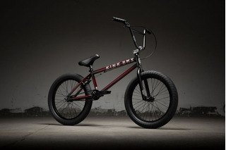 Bicicleta Bmx Kink Gap 2019 Gloss Trans Black Cherry