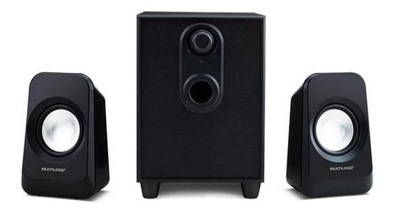 Caixa De Som 2.1 Bass 20w Sp377