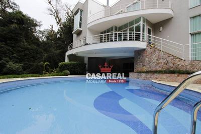 Oportunidade! Magnífica Residência Com 883m² Em Condomínio Fechado - Veja Fotos! - Ca0061