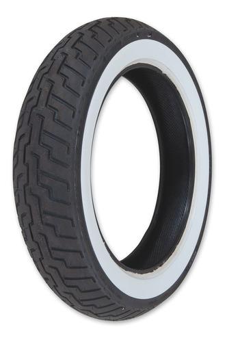 Imagen 1 de 2 de Cubierta Moto 150 80 16 Dunlop Japon D404 Banda Blanca Avant
