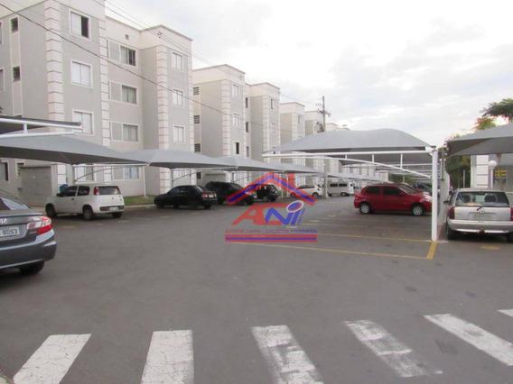 Apartamento Com 2 Dormitórios À Venda, 47 M² - Chácaras Fazenda Coelho - Hortolândia/sp - Ap0048